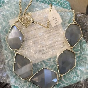 Kendra Scott Iridescent Slate Connely Necklace